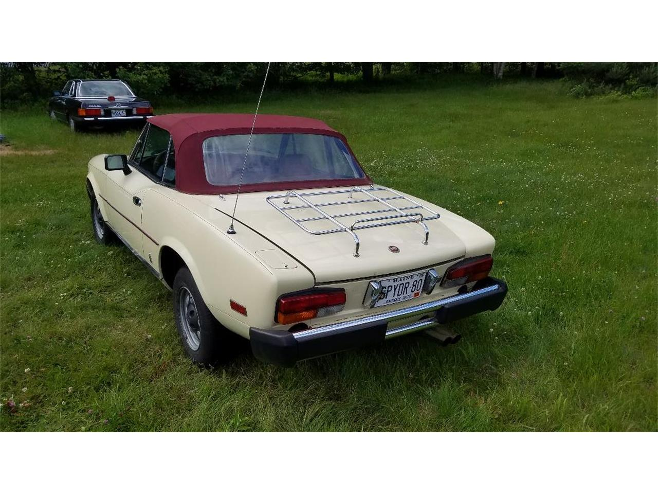 1980 Fiat Spider (CC-1247157) for sale in Phippsburg, Maine