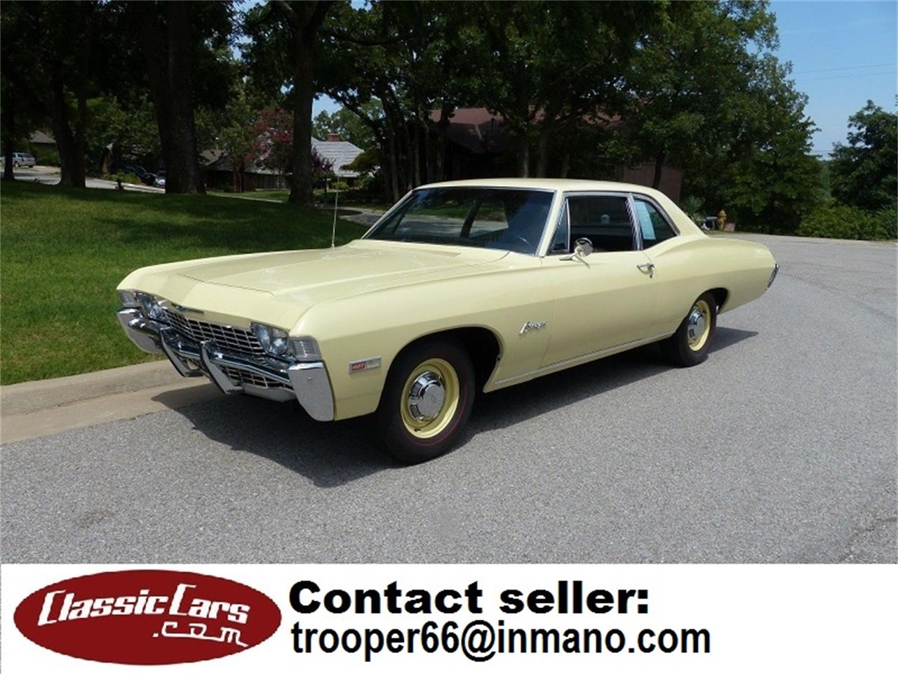 1968 Chevrolet Biscayne (CC-1247333) for sale in St. Louis, Missouri
