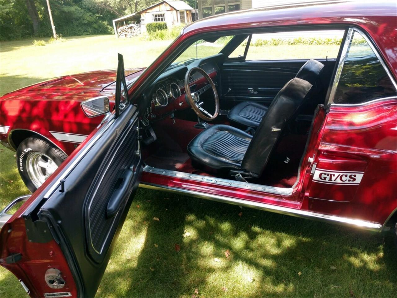 1968 Ford Mustang GT/CS (California Special) (CC-1247471) for sale in Westfield, Massachusetts
