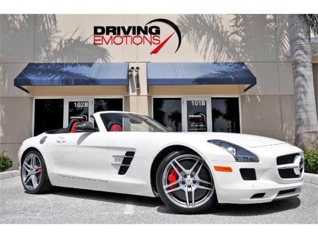 2012 Mercedes-Benz SLS AMG (CC-1247521) for sale in West Palm Beach, Florida