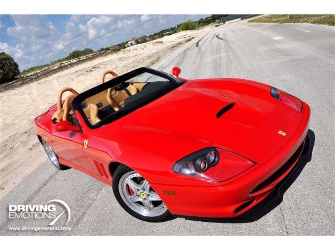 2001 Ferrari 550 Barchetta (CC-1247633) for sale in West Palm Beach, Florida