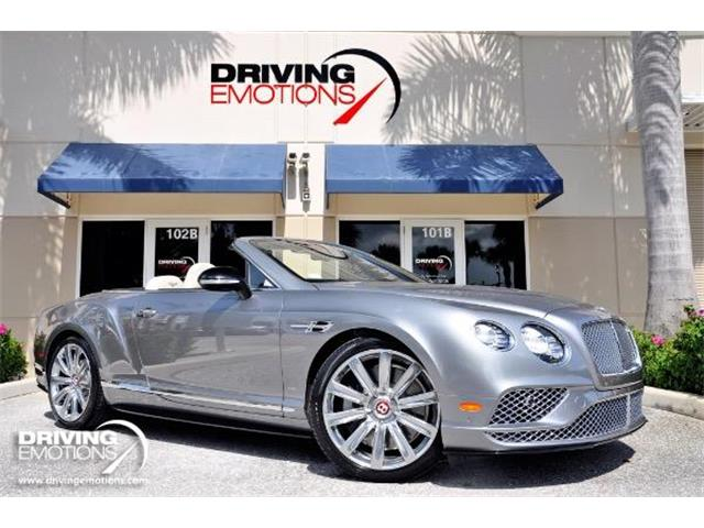 2016 Bentley Continental GT V8 S (CC-1247672) for sale in West Palm Beach, Florida