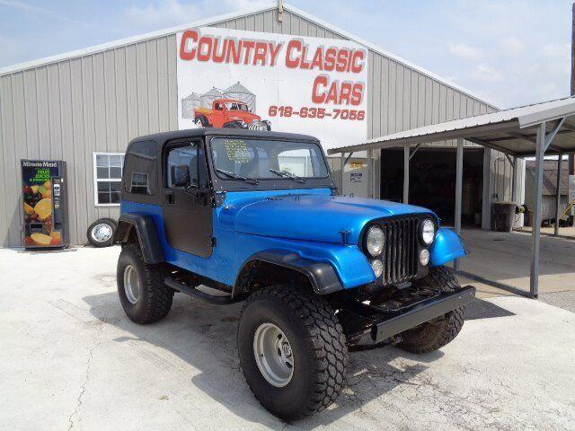 1976 Jeep CJ7 (CC-1248540) for sale in Staunton, Illinois