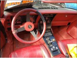 1981 Chevrolet Corvette (CC-1248711) for sale in Cadillac, Michigan