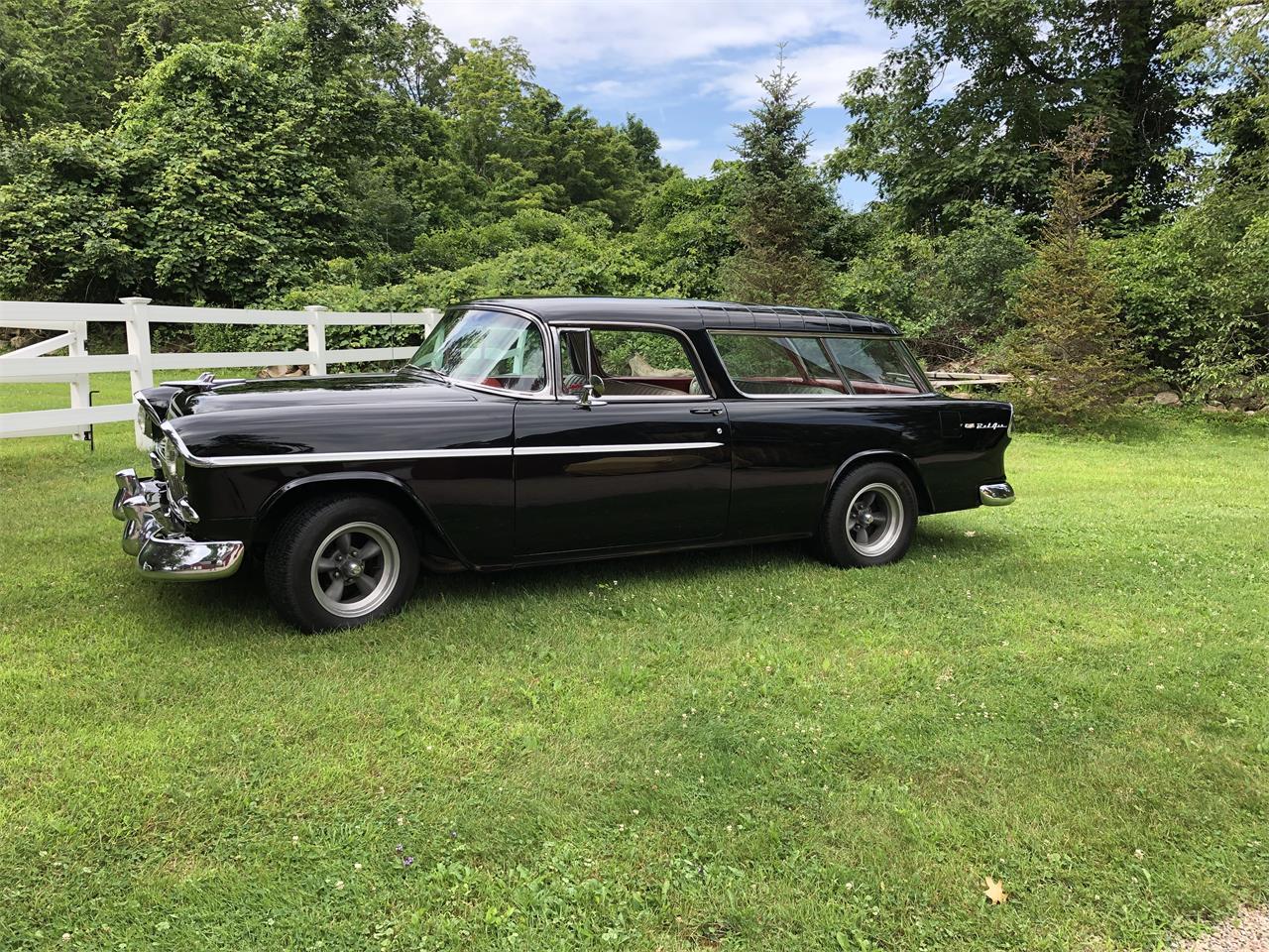 1955 Chevrolet Bel Air Nomad (CC-1249332) for sale in Grafton , Massachusetts