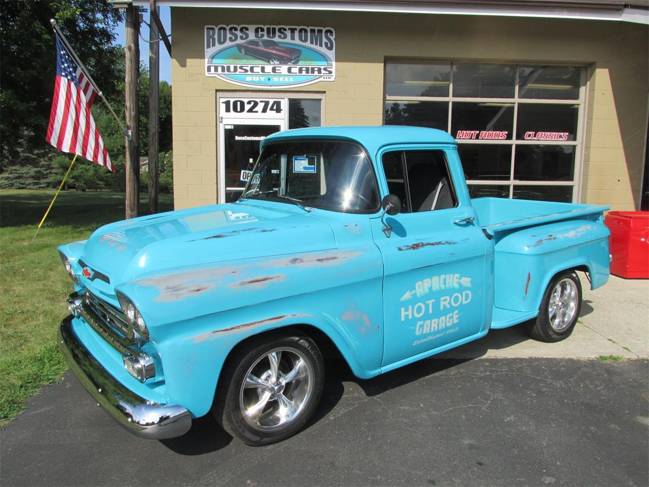 1959 Chevrolet 3100 (CC-1249377) for sale in Goodrich, Michigan