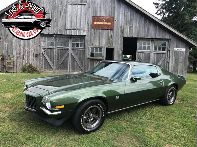 1972 Chevrolet Camaro (CC-1251280) for sale in Mount Vernon, Washington