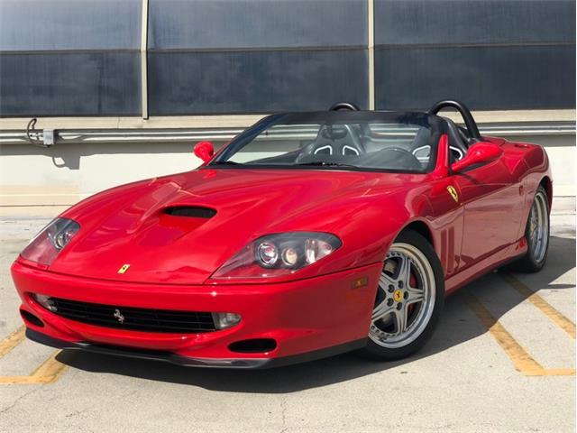 2001 Ferrari 550 Maranello (CC-1251311) for sale in Los Angeles, California