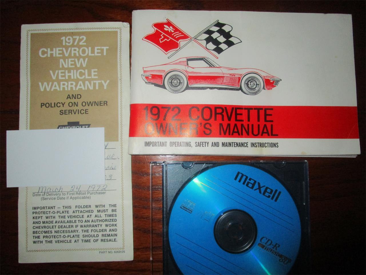 1972 Chevrolet Corvette (CC-1251369) for sale in Carrollton, Texas