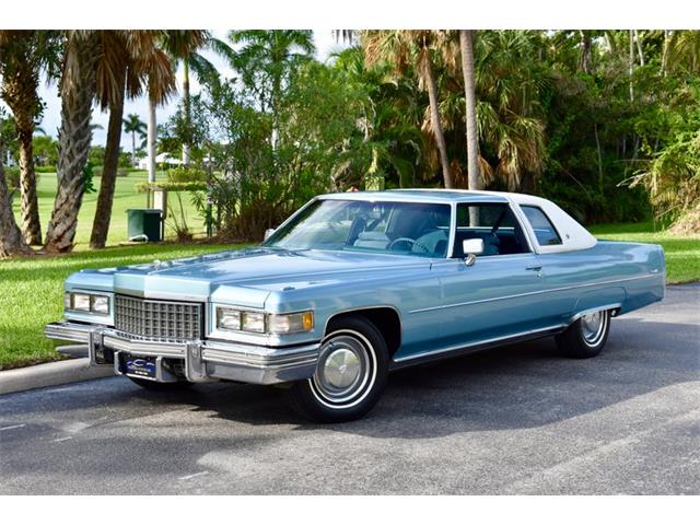 1976 Cadillac Coupe (CC-1251677) for sale in Delray Beach, Florida