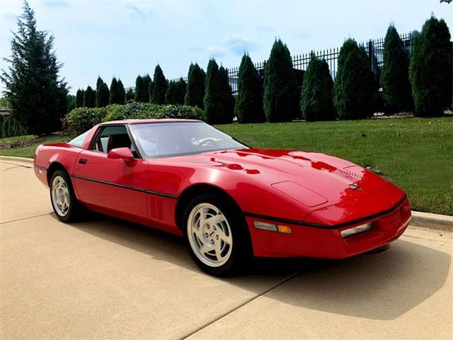 1990 Chevrolet Corvette (CC-1251680) for sale in Burr Ridge, Illinois