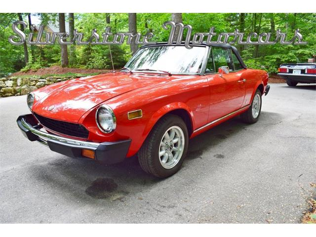 1978 Fiat 124 (CC-1251750) for sale in North Andover, Massachusetts