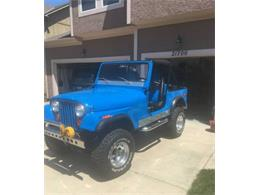 1979 Jeep CJ7 (CC-1250179) for sale in Cadillac, Michigan