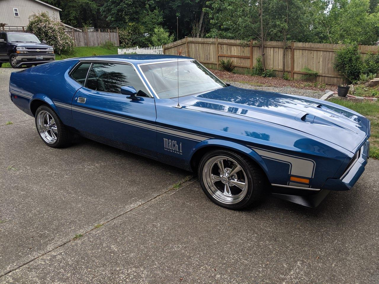 1972 Ford Mustang Mach 1 (CC-1251957) for sale in TACOMA, Washington