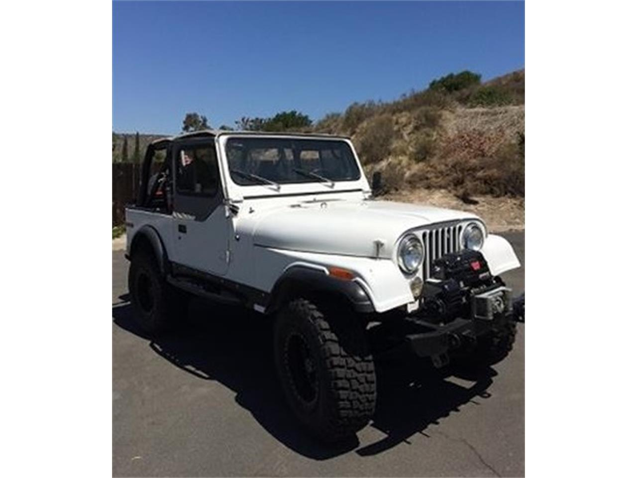 1980 Jeep CJ7 (CC-1252435) for sale in San Diego, California