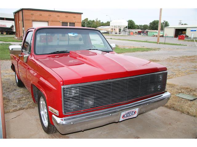 1987 Chevrolet C10 (CC-1252507) for sale in Hinton, Oklahoma