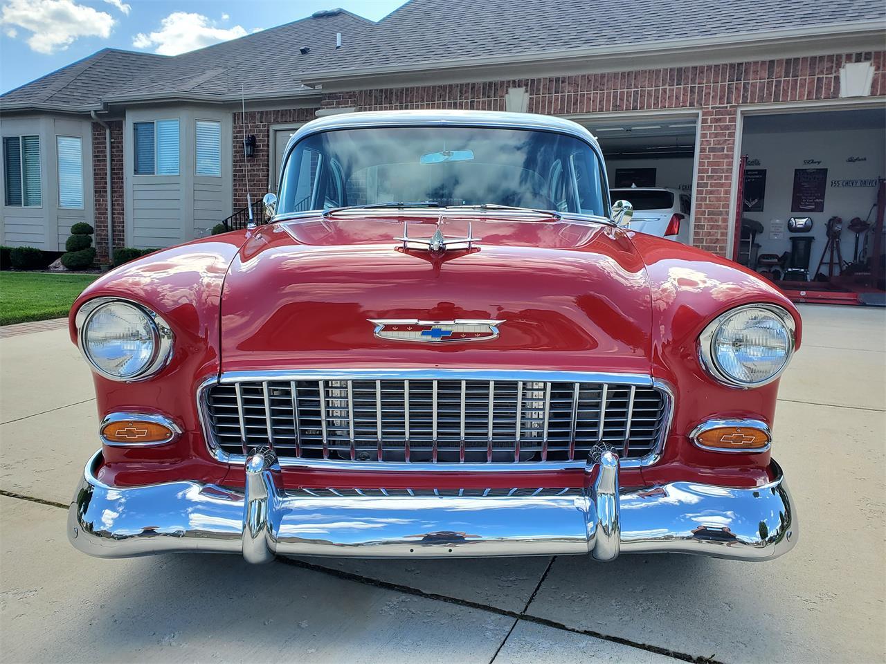 1955 Chevrolet Bel Air (CC-1253031) for sale in Macomb, Michigan