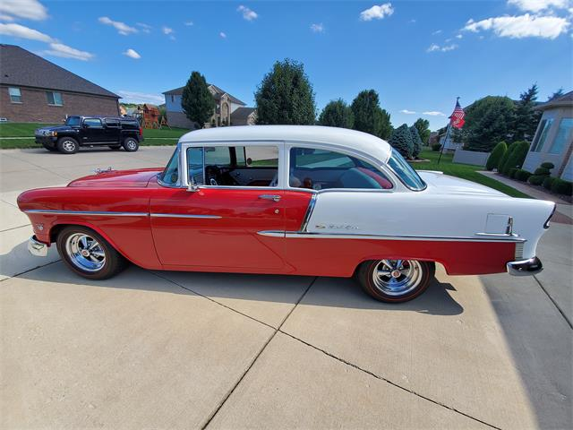 1955 Chevrolet Bel Air (CC-1253031) for sale in Macomb, Michigan