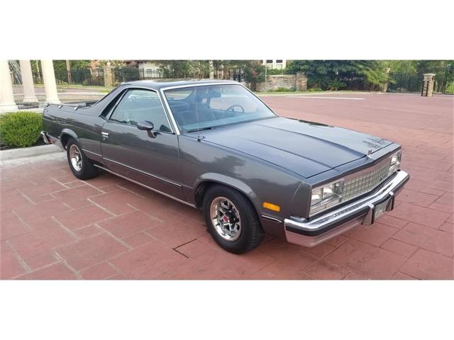 1985 GMC Caballero (CC-1253091) for sale in Conroe, Texas