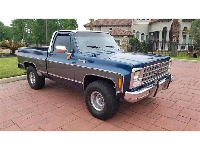 1980 Chevrolet C/K 10 (CC-1253096) for sale in Conroe, Texas