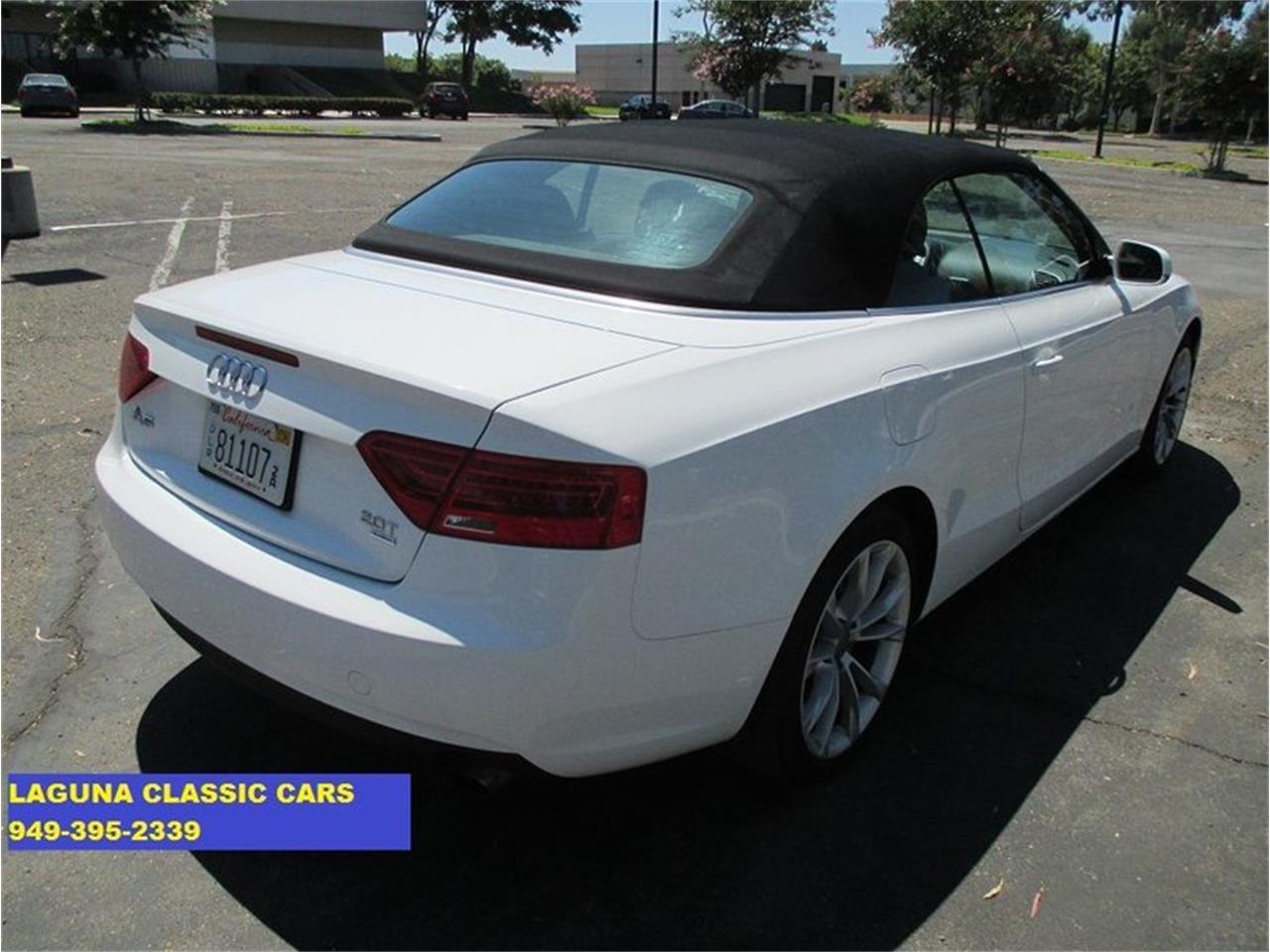 2013 Audi A5 (CC-1253323) for sale in Laguna Beach, California