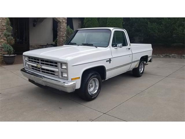 1987 Chevrolet C10 (CC-1253788) for sale in Taylorsville, North Carolina