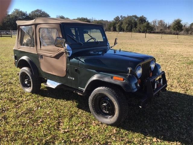 1976 Jeep CJ7 (CC-1253828) for sale in Ledbetter, Texas