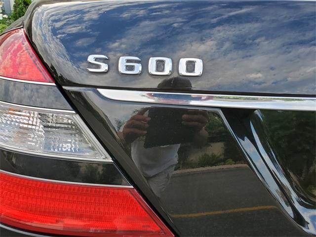 2008 Mercedes-Benz S600 (CC-1253837) for sale in Costa Mesa, California