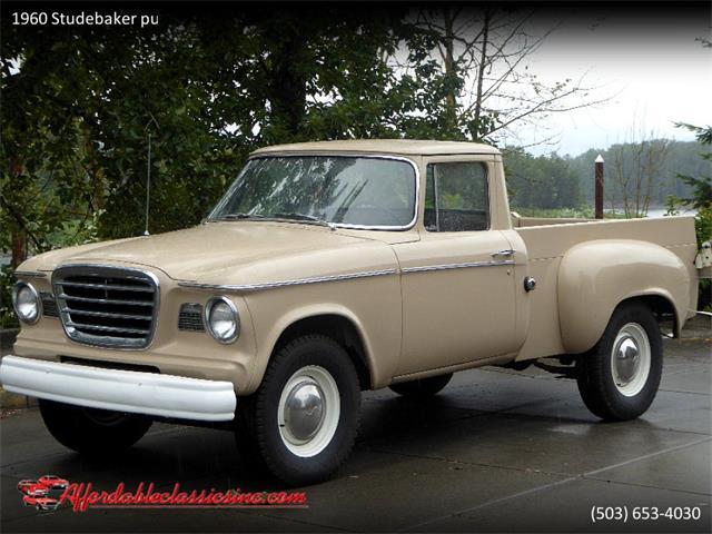 1960 Studebaker Pickup (CC-1250403) for sale in Gladstone, Oregon