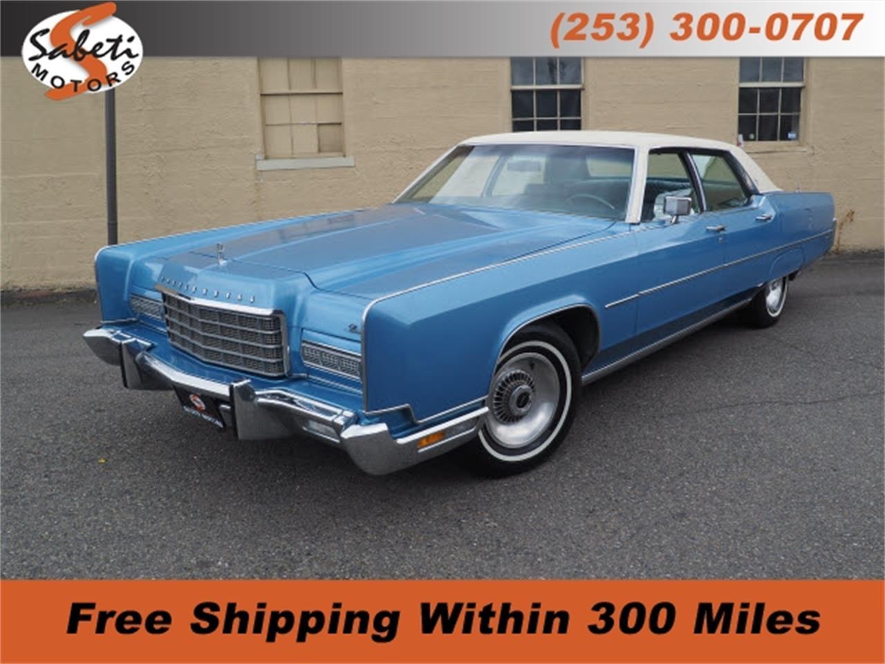 1973 Lincoln Continental (CC-1254114) for sale in Tacoma, Washington