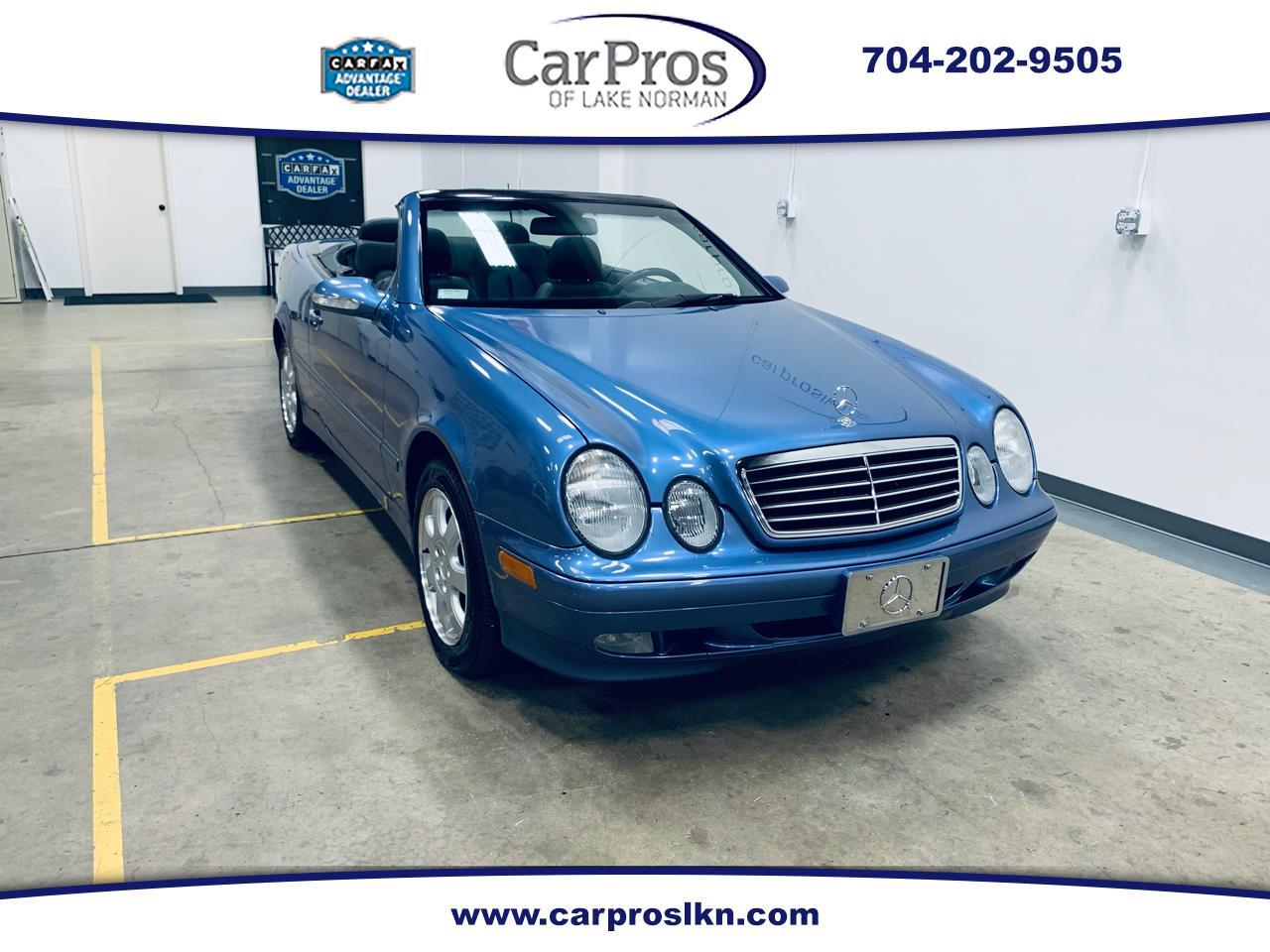 2000 Mercedes-Benz CLK-Class (CC-1254128) for sale in Mooresville, North Carolina