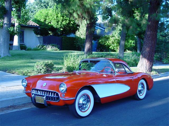 1956 Chevrolet Corvette (CC-1254195) for sale in Chatsworth, California
