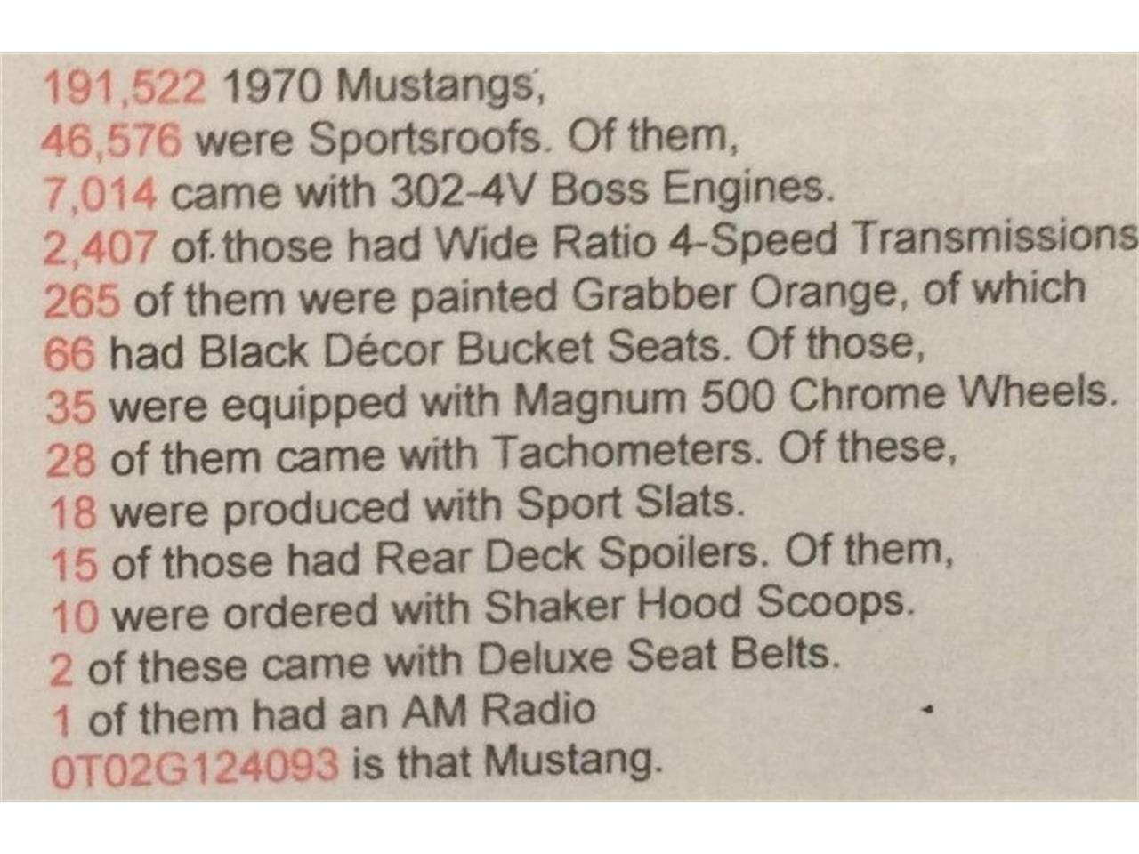 1970 Ford Mustang (CC-1254479) for sale in Mount Maunganui, North Island