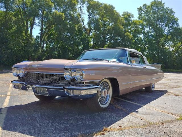 1960 Cadillac Series 62 (CC-1254573) for sale in Richmond, Illinois