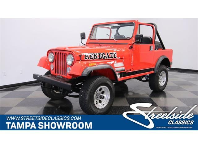 1981 Jeep CJ7 (CC-1255701) for sale in Lutz, Florida