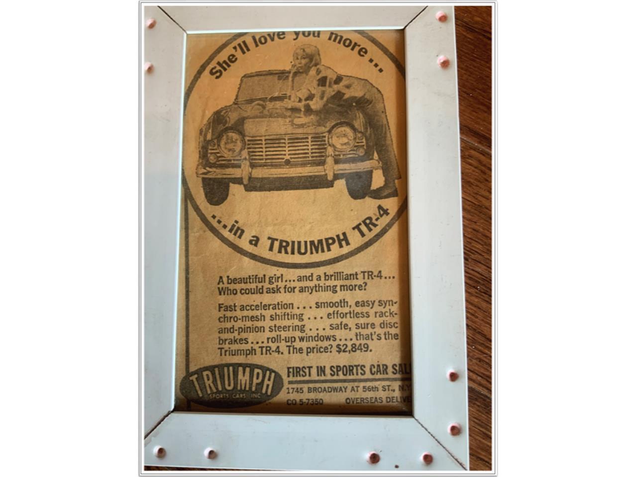 1962 Triumph TR4 (CC-1256131) for sale in Houston, Texas