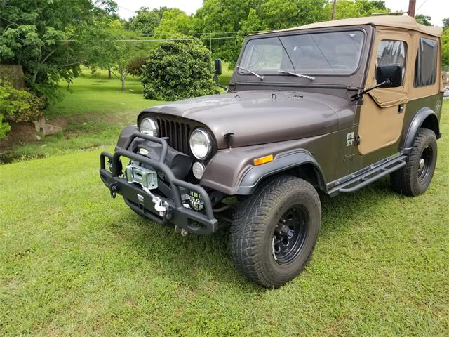 1985 Jeep CJ7 (CC-1256157) for sale in Houston, Texas