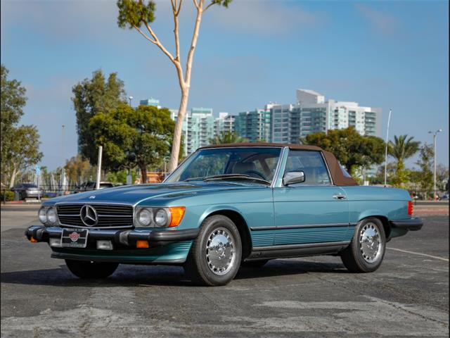 1989 Mercedes-Benz 560SL (CC-1256322) for sale in Marina Del Rey, California