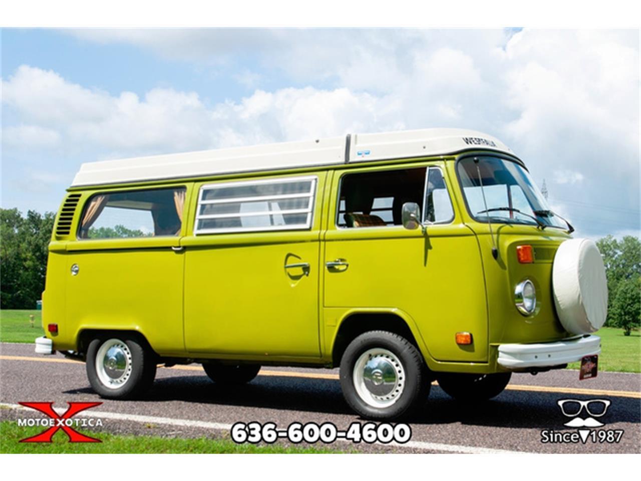 1978 Volkswagen Westfalia Camper (CC-1256576) for sale in St. Louis, Missouri