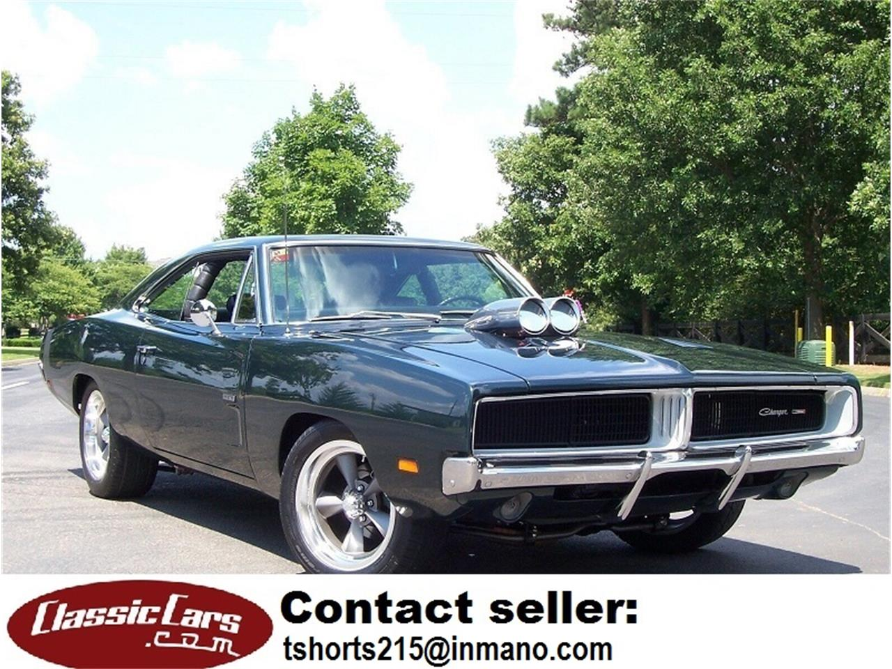 1969 Dodge Charger (CC-1250665) for sale in Tifton, Georgia