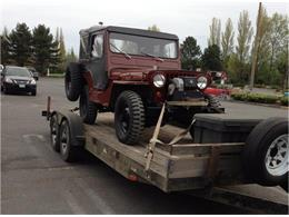 1952 Willys Jeep (CC-1250666) for sale in Heron, Montana
