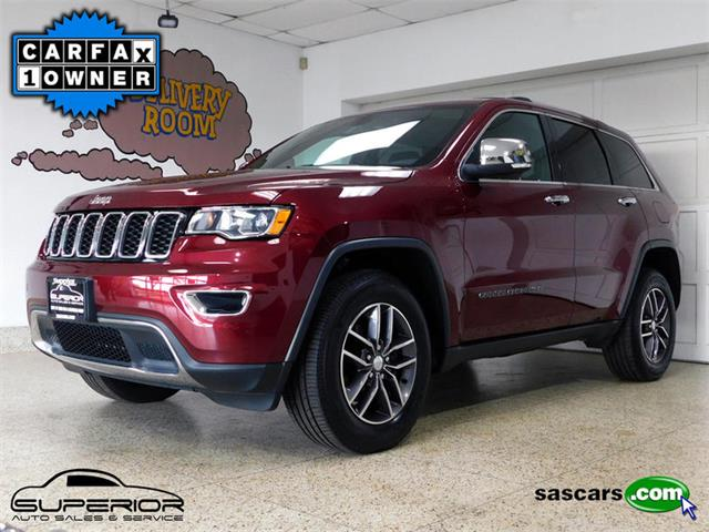 2017 Jeep Grand Cherokee (CC-1256957) for sale in Hamburg, New York