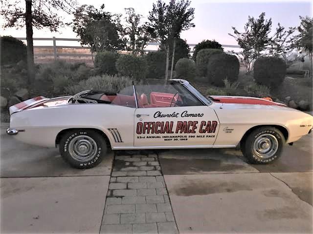 1969 Chevrolet Camaro SS (CC-1257017) for sale in Roseville, California