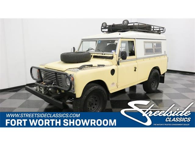 1983 Land Rover Series I (CC-1250709) for sale in Ft Worth, Texas