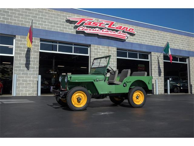 1946 Willys CJ2A (CC-1257189) for sale in St. Charles, Missouri