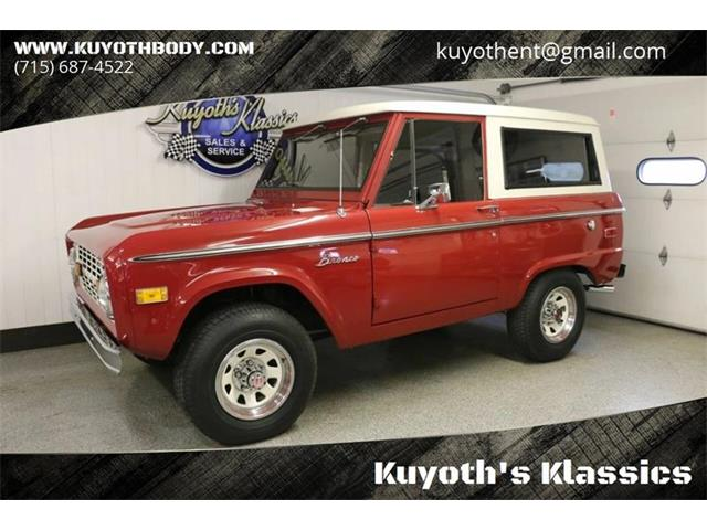 1973 Ford Bronco (CC-1257287) for sale in Stratford, Wisconsin