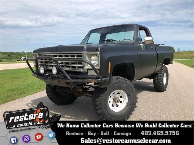 1977 Chevrolet K-1500 (CC-1257336) for sale in Lincoln, Nebraska