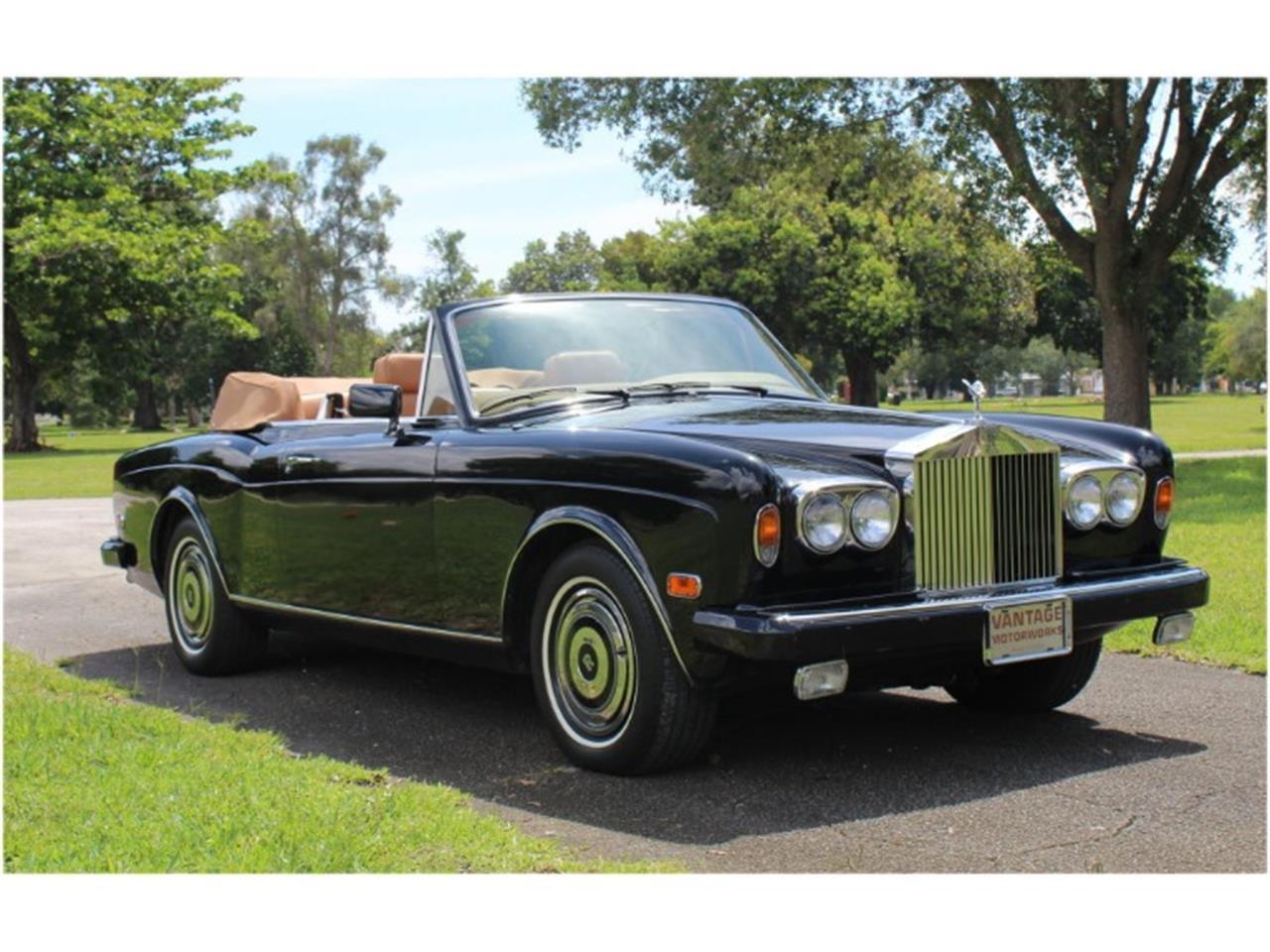 1985 Rolls-Royce Corniche (CC-1257532) for sale in North Miami , Florida