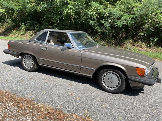 1987 Mercedes-Benz 500SL