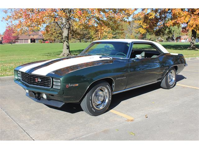 1969 Chevrolet Camaro RS Z28 (CC-1257651) for sale in Burlington, Iowa
